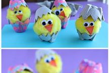 Easter Board / The basics to create your own Easter party and ideas of what to do and serve!