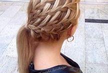 Hair / #hair #hairstyles #haricut #dye #braids #ponytails #howto