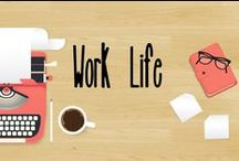 Workaholic / Want to be more efficient at work? This board is a compilation of helpful tips for work life.
