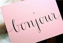 envelopes & lettering