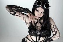 Gothgoth / victorian, cyber, industrial, whatever