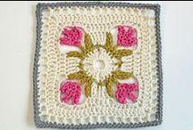 Crochet - Squares / Cuadrados al Crochet