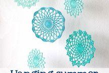 Crochet - Circles / Circulos al Crochet