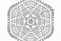 Crochet - Hexagons / Hexágonos al Crochet