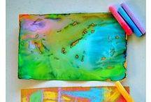 ❂ ART ❂ in preschool