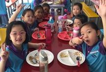 Singapore School Canteen Environment / Take a visual look around the primary school canteens/cafeteria in Singapore
