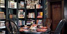 Novel Ideas for Book Shelves / Interior Designing with books. How to transform a room using a books and bookshelves.