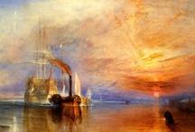 ROMANTISISMO / El romanticismo en la pintura se extiende desde 1770 hasta 1870. Sucede y se contrapone a la pintura neoclásica de finales del XVIII (belleza ideal, el racional
