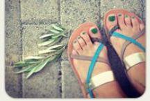 Your Greek Sandals / Grecianchick - Handmade Greek leather Sandals
