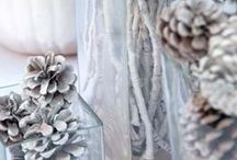 Winter Br-Aby Shower / Winter themed Bridal/Baby Shower event - colors orange and grey. #winter #baby #bridal #shower
