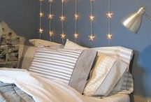 Bedtime / Bedroom decor and evening routines for the sweetest of dreams.