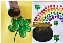 St. Patrick's Day Fun / Crafts, Snacks and Decor for a fun St. Patrick's Day.