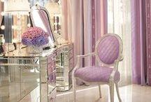 Dressing Tables... / Κάθε γυναίκα θέλει να έχει τον δικό της μικρόκοσμο, για τις όμορφες στιγμές που περιποιείται τον Εαυτό της...... <3