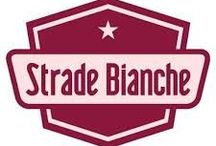 """STRADE BIANCHE / """"Strade Bianche is not a classic, but it should be. Strade Bianchi is even not a famous race or an important pro-cycling race. But it should! Because the Strade Bianche is one of the most beautiful, spectacular and exiting races of the pro-cycling season.""""  Unpaved Cycling Club."""