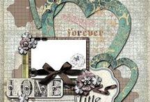 All Things Scrapbooking - Single Page Layouts