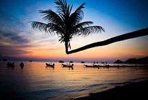 Rajskie plaże Tajlandii  / Słońce, gorący piasek, woda, piękne widoki, czyli rajskie plaże #Tajlandii: #Maya, Ao Kiew, Bamboo Island i wiele innych.