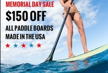 Stand Up Paddle Boards / 2013 Stand Up Paddle Boards. Featuring Race Paddle Boards, Surf SUP Boards, Fishing Paddleboards, Yoga SUP boards, Touring SUPs & Boards just for Women / by Waterway SUP