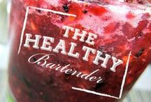 The Healthy Bartender / Jules Aron is the healthy bartender, a holistic health coach and bartender on a mission to raise the bar on cocktails by infusing healthy, nutritious ingredients back into our lives one delicious drink at a time. www.thehealthybartender.com