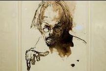 Portraits, drawings