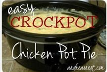 Crockpot Recipes / Recipes for Crockpots and Slow Cookers / by Andrea's Nest