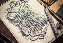 Cali, type, lettering