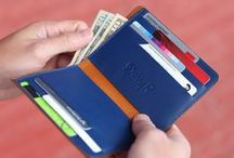 Leather Wallet with iPhone 5 Case / Protect your iPhone 5 with Danny P.'s exclusive wallets, which are handmade from the finest Italian leather, and keep your two most important accessories together. There is also plenty of space for your cash, business and credit cards.