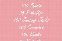 Fun & Fitness / Some healthy tips and fabulous exercises to motive me and you!