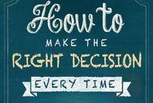How to Make the Right Decision Every Time / New book by Karen Jensen Salisbury!  http://www.karensalisburybooks.com