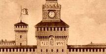 Cartoline vintage con orologi
