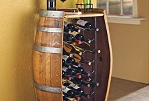 Creative Wine Storage / If you like to collect wine and need ideas on storing those precious bottles - here is a board for you.
