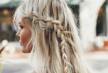 HAIRSTYLE TO LOVE / Braids, fishtails, up-do's, layers, highlights... the list goes on and we want it all. / by Sales Gossip