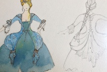 Jessica Zoob Costume Drawings
