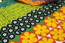 Têxtil  / Padrões de diversos artistas. Desenvolvidos para a área têxtil.