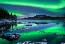 Aurora Borealis - Northern light / Beautiful nature, aurora borealis, northern light