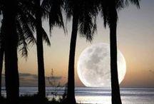 Sky's the limit / Sun, Moon, planet earth, sky, space, galactic
