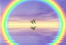 Rainbows / colorful rainbows