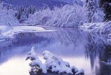 Winter  / snow,  ice. winter, landscape, white