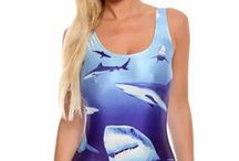 Bodysuits / Swimsuits Laser Print / Our new selection of gorgeous bodysuits double as swimsuits making them a must have for this summer! / by Only Leggings