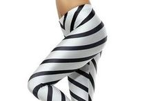 Black & White / Black leggings, white leggings, black and white leggings; which ever one, we have some fabulous styles that are going to give your legs a smile! / by Only Leggings
