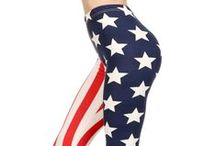 4th of July Fashion / by Only Leggings