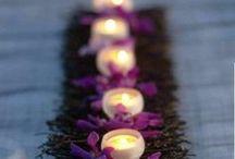 Decoration / table decoration, flowers