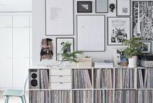 Vinyl Room Inspo
