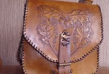 Leathercraft. / Moje prace. My work.