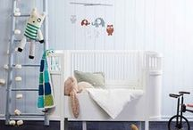 Baby Boy Nursery / A collection of baby boy nursery inspiration. #nursery #boynursery #babynursery #baby