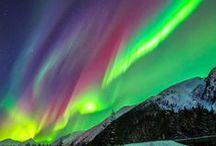 オーロラ・虹 aurora  rainbow