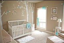 Neutral Nursery / A collection of gender neutral nurseries that are sure to please many tastes and styles. #nursery #bambelladesigns #styleboards #design #baby #neutraldesigns