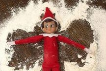 Elf on the Shelf Inspiration! / A collection of Elf on The Shelf ideas to keep you inspired this Christmas.  #elfontheshelf #christmas #mischief #bambella