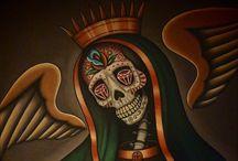 Santa Muerte / Santa Muerte tattoos and art