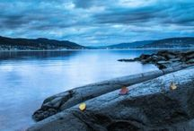 Seascapes, Drammensfjorden.