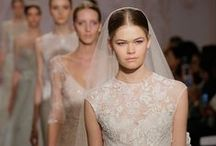 Runway Bride / As seen on the catwalk in London, Paris, and New York.